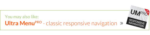 Multipurpose Responsive Tile Navigation Menu - 3